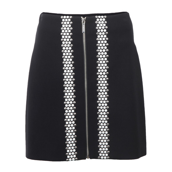 Michael Kors Womens Blue Hotfix Skirt main image