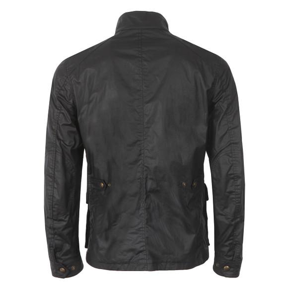 Belstaff Mens Blue New Tourmaster Wax Jacket main image