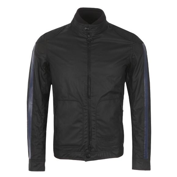 Barbour International Triumph Mens Black Sealent Wax Jacket main image