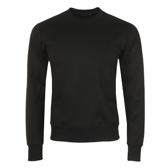 Paul Smith Jeans Mens Blue Perforated Sweatshirt main image
