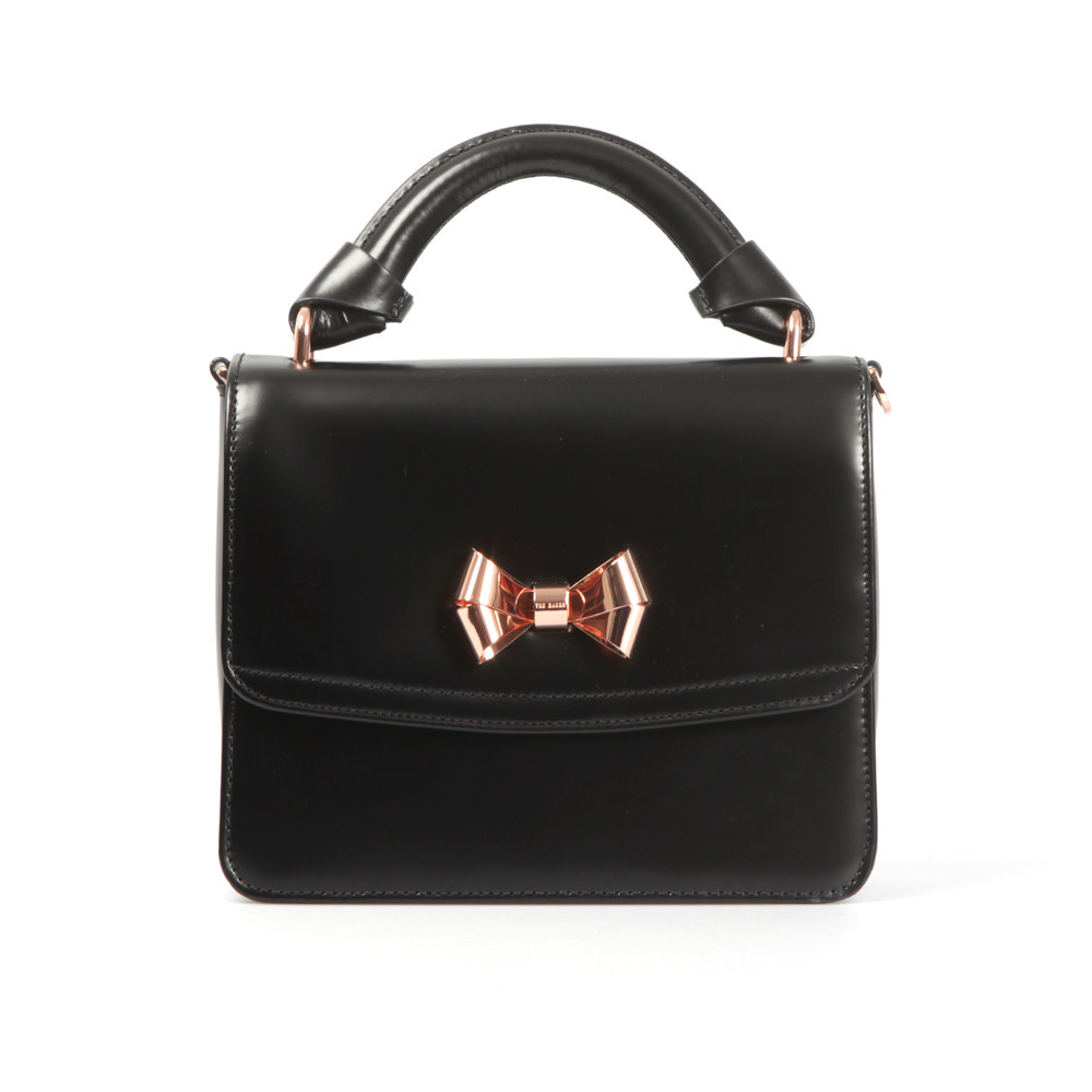Juliee Highshine Metal Bow Mini Lady Bag main image