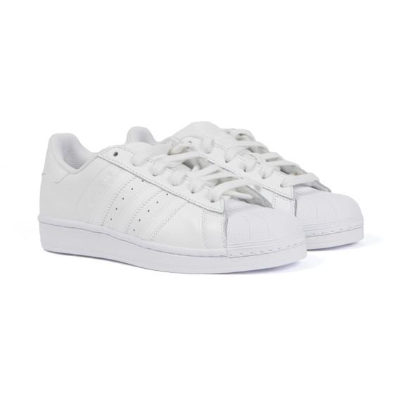 Adidas Originals Womens White Superstar Foundation Trainer main image
