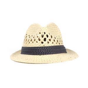 Delmont Straw Woven Hat with Band