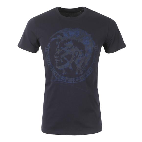 Diesel Mens Blue Diego FR T Shirt main image