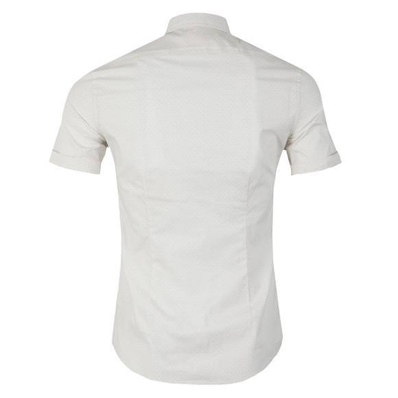 Diesel Mens Off-white Leppa Patterned Shirt main image