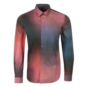 Classic Long Sleeve Patterned Shirt