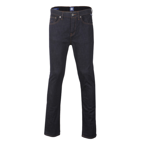Pretty Green Mens Blue Erwood Slim Fit Jean main image