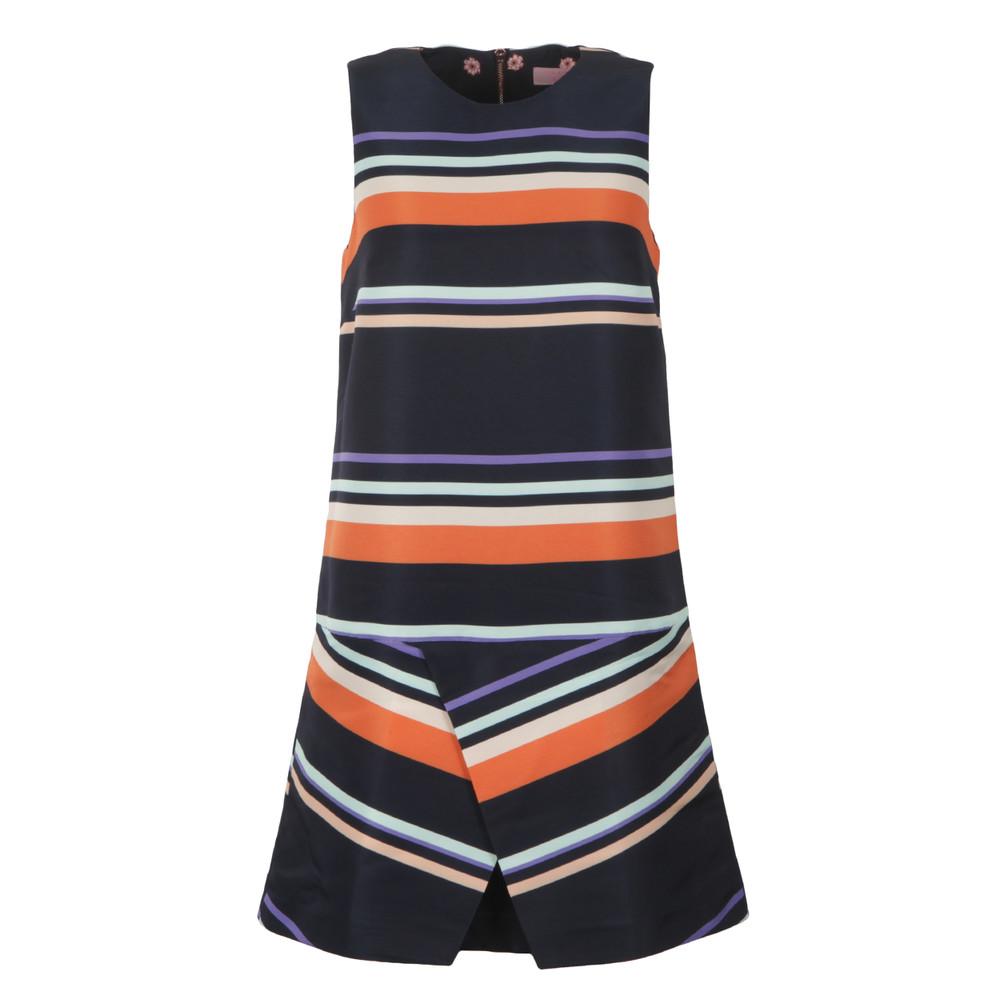 Damica Tribal Stripe Fold Skirt Tunic main image