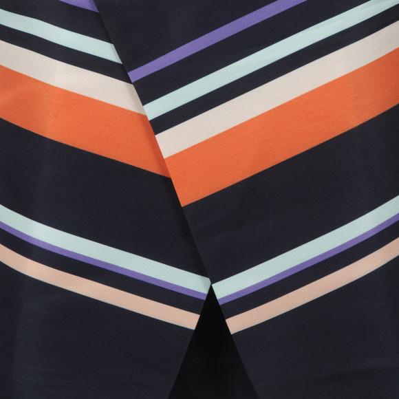 Ted Baker Womens Blue Damica Tribal Stripe Fold Skirt Tunic main image