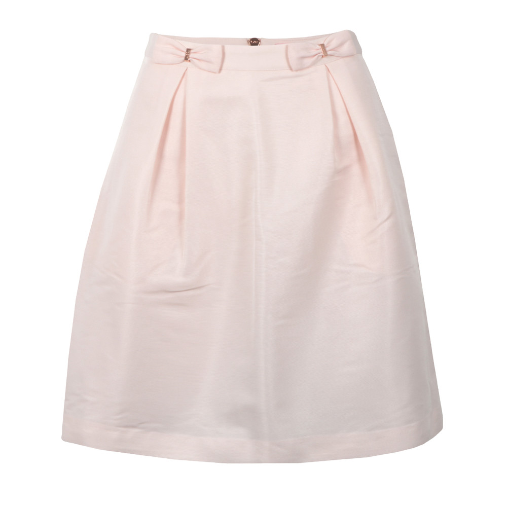 Pheobie Double Bow Mini Skirt main image