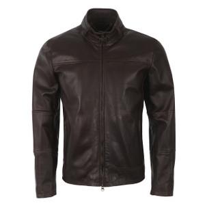 Track Leather Jacket