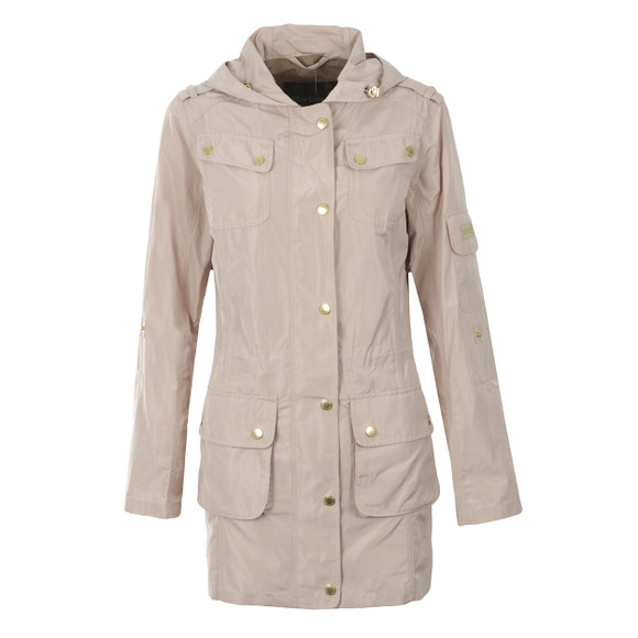 Barbour International Womens Pink Delter Casual Jacket main image