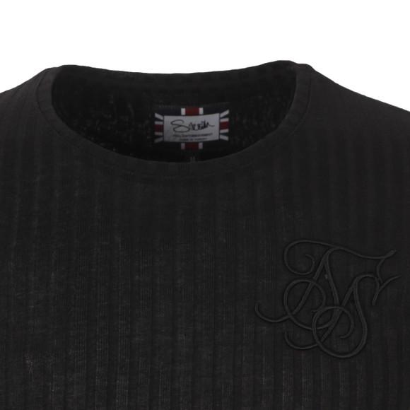 Sik Silk Mens Black Rib Knit Undergarment main image