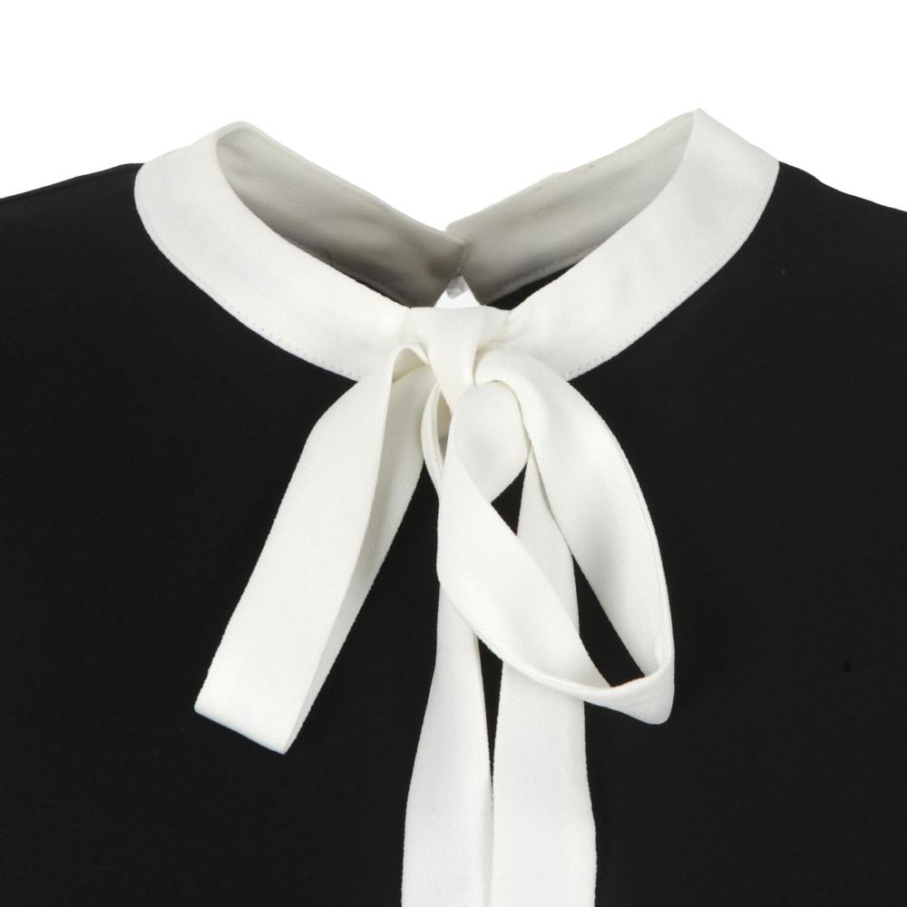 Olia Bow Tie Crepe Top main image