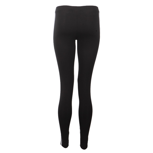 Adidas Originals Womens Black 3 Stripes Legging main image