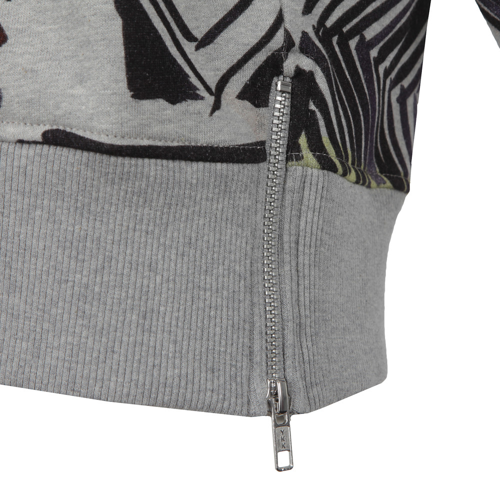 Empire Grid Roundneck Sweatshirt main image