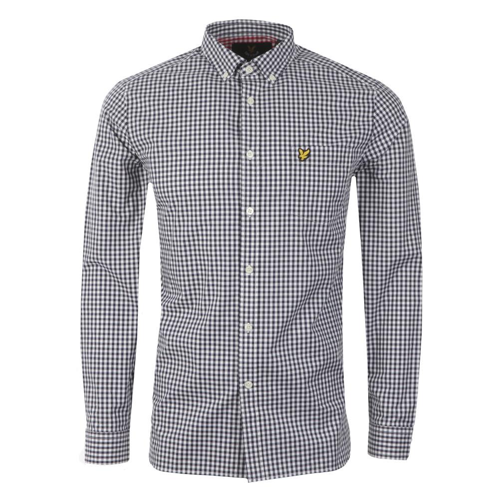 Gingham Check LS Shirt main image