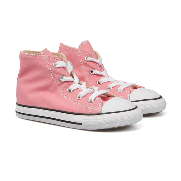 Converse Unisex Pink Kids All Star Hi main image
