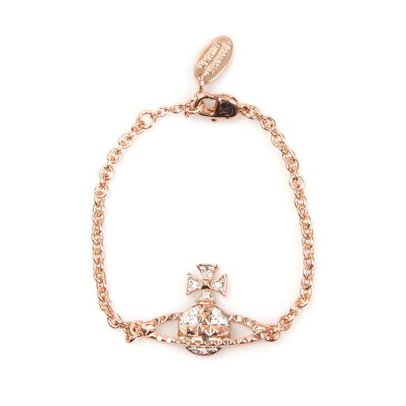 Vivienne Westwood Womens Pink Mayfair Bas Relief Bracelet main image