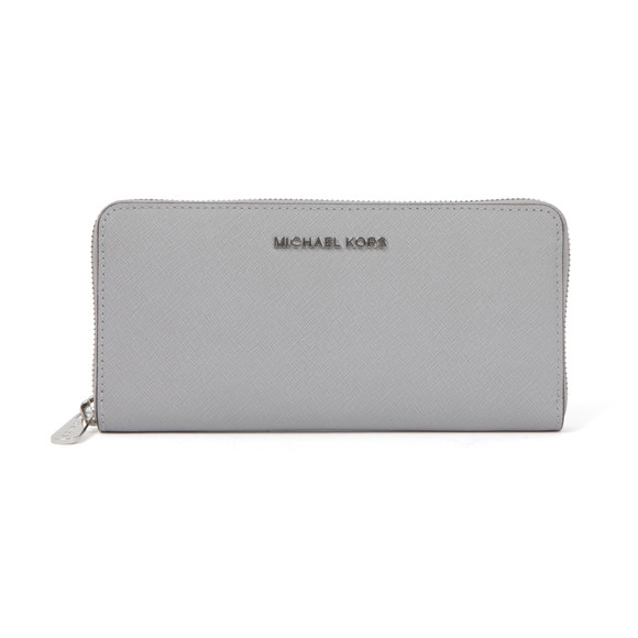 Michael Kors Womens Grey Jet Set Travel Continental Purse main image