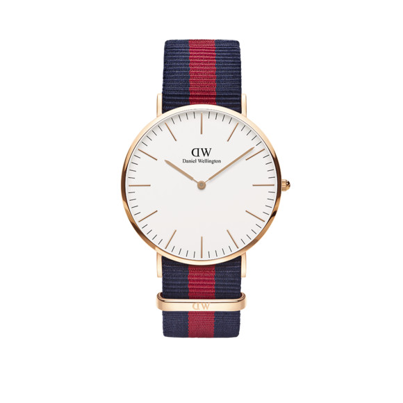 Daniel Wellington Unisex Pink Classic Oxford 40mm Watch main image
