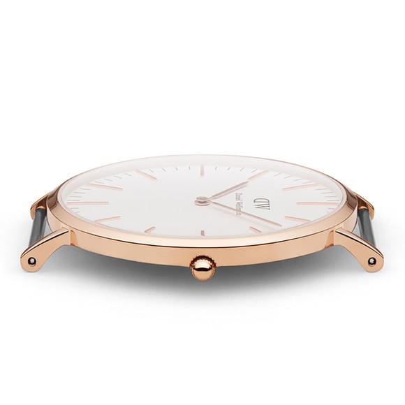 Daniel Wellington Unisex Pink Classic St Mawes 40mm Watch main image