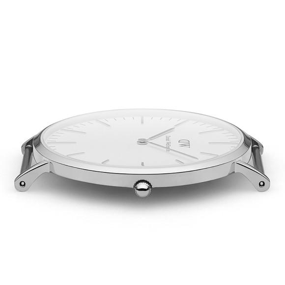 Daniel Wellington Unisex Silver Classic St Mawes 40mm Watch main image