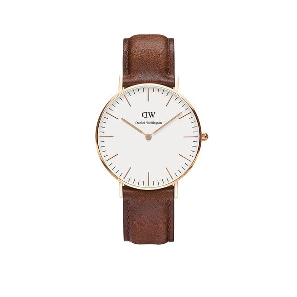 Daniel Wellington Unisex Pink Classic St. Mawes 36mm Watch main image
