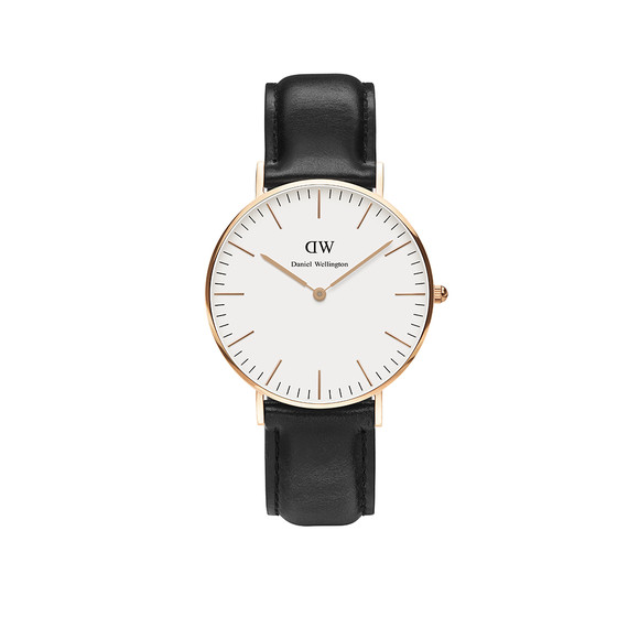 Daniel Wellington Unisex Pink Classic Sheffield 36mm Watch main image