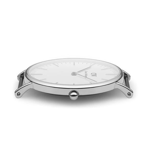 Daniel Wellington Unisex Silver Classic St. Mawes 36mm Watch main image