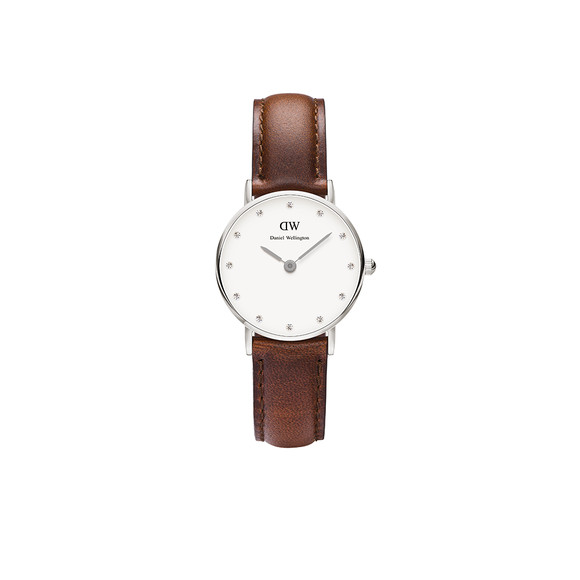 Daniel Wellington Unisex Silver Classy St Mawes 26mm Watch main image
