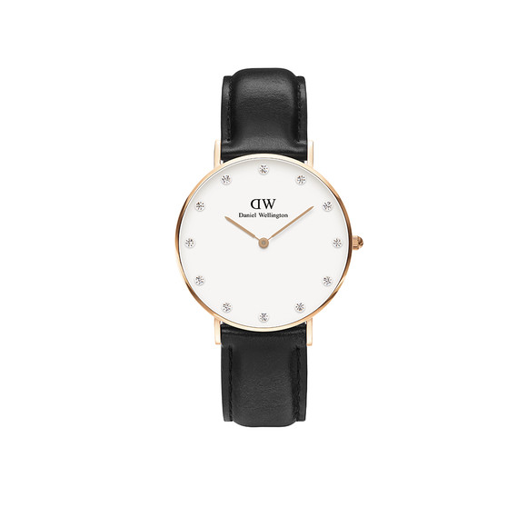 Daniel Wellington Unisex Pink Classy Sheffield 34mm Watch main image