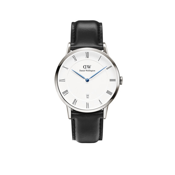 Daniel Wellington Unisex Silver Dapper Sheffield 38mm Watch main image