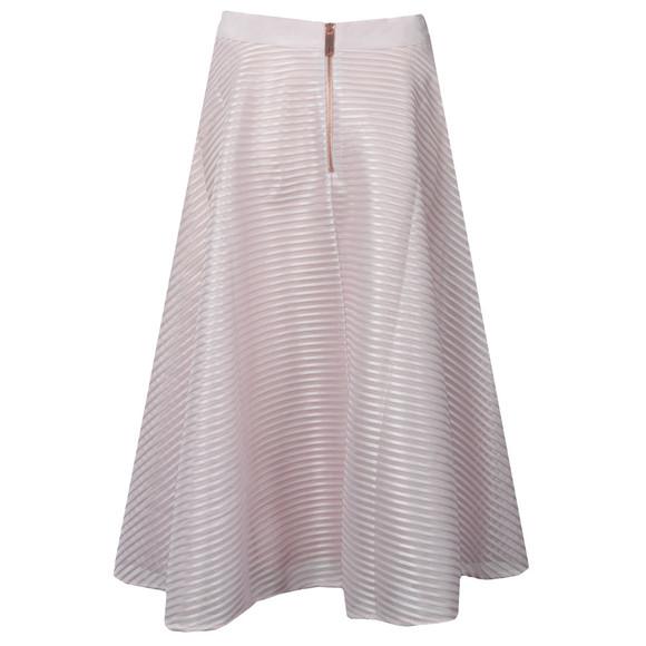 Ted Baker Womens Purple Alishia Mesh Line Full Skirt main image