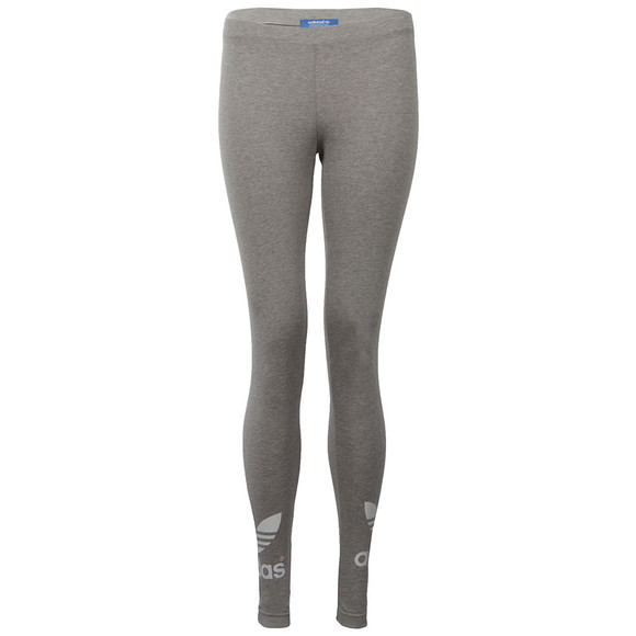 Adidas Originals Womens Grey Trefoil Legging main image