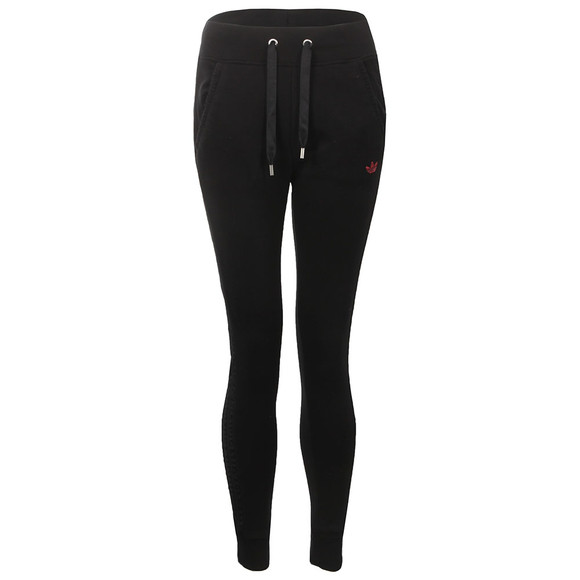Adidas Originals Womens Black Slim Trackpant main image