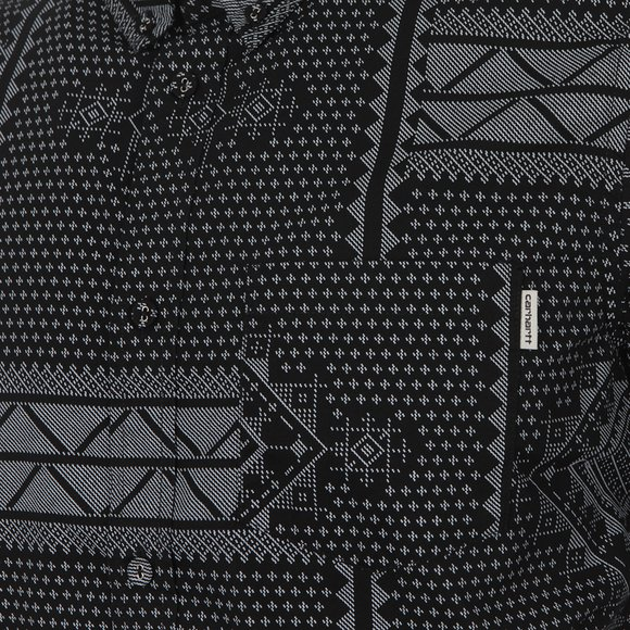 Carhartt Mens Black Trenton Assyut Shirt main image