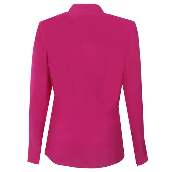 Ted Baker Womens Pink Elizaa Fold V Neck Blouse main image