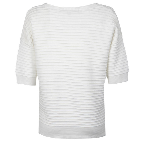 French Connection Womens White Heatwave Dinka Crepe Jumper main image