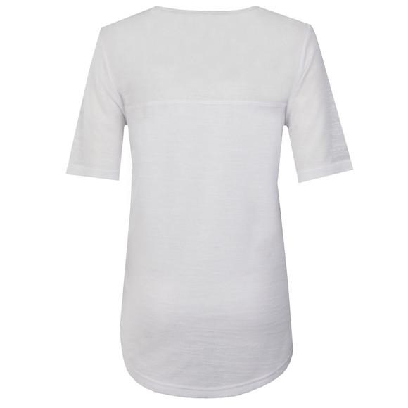 Barbour International Womens White Fandor Zip Top main image