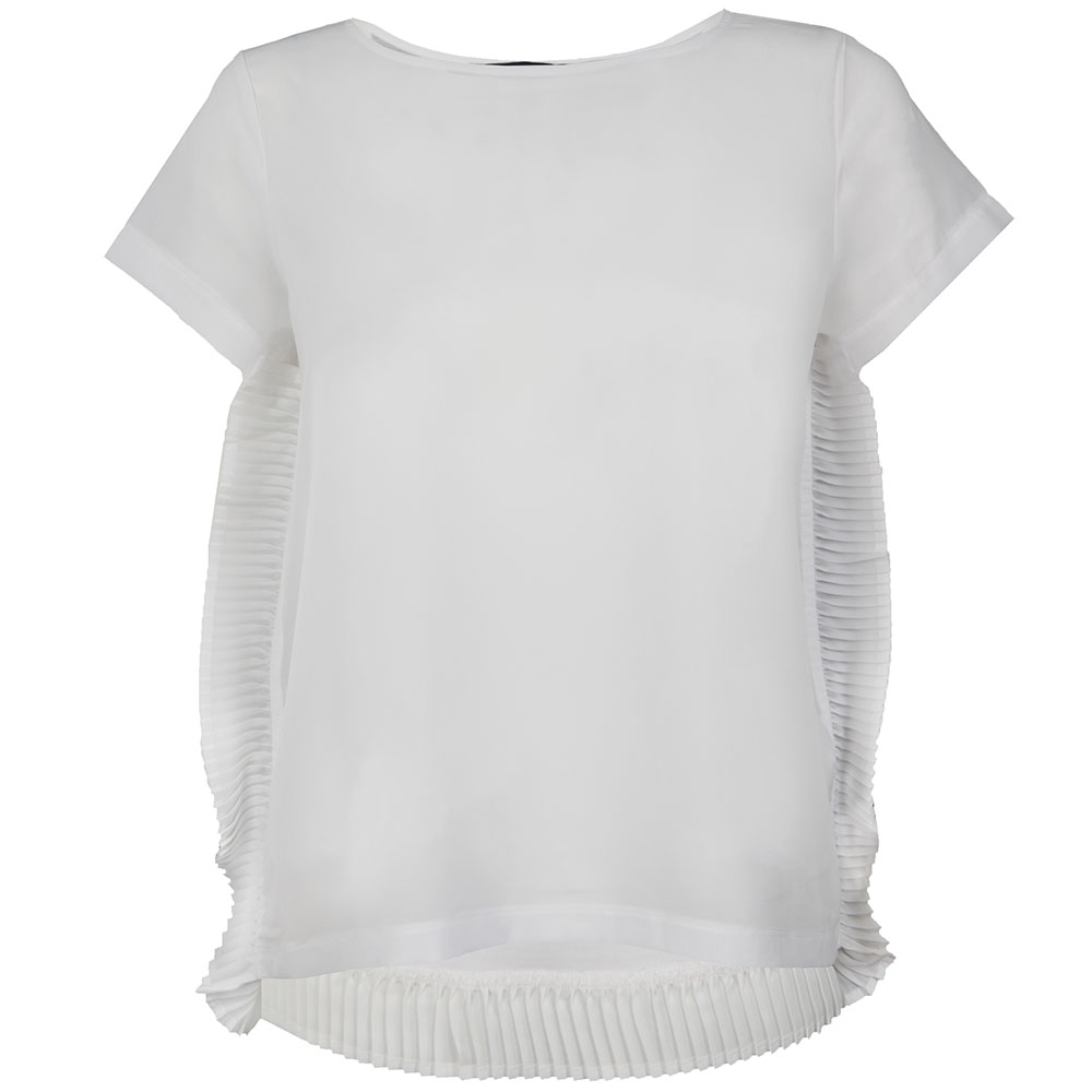 Polly Plains Frill T Shirt main image