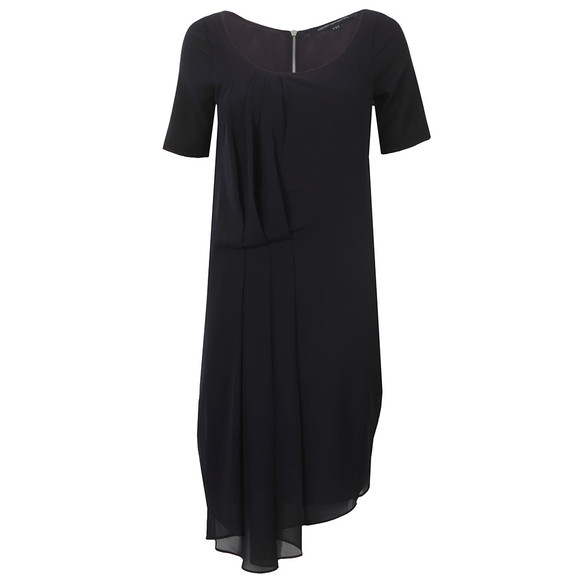 French Connection Womens Blue Florrie Drape Dress main image