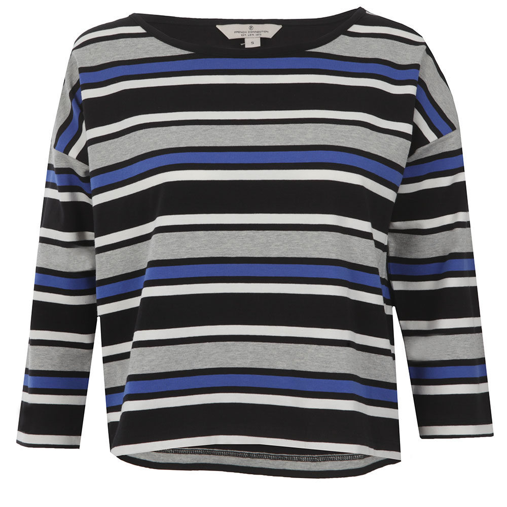 Suo Stripe Long Sleeve Top main image
