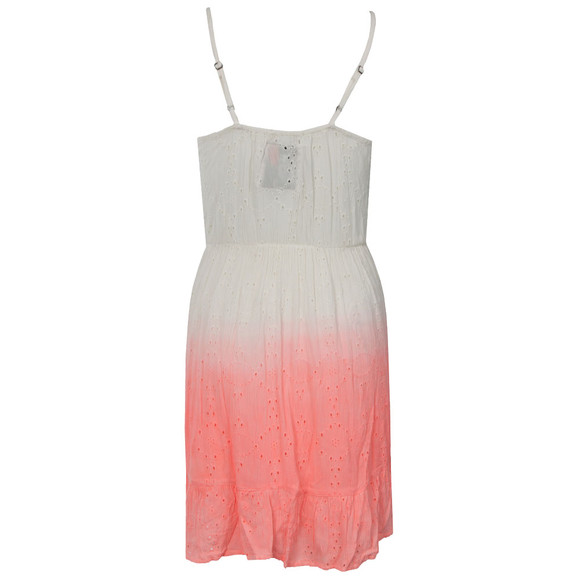 Superdry Womens Pink Dip Dye Schiffli Chelsea Dress main image