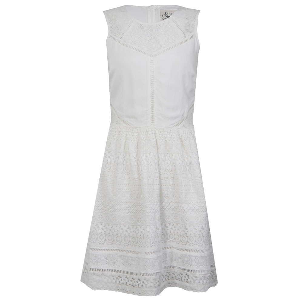 Lace Panel Skater Dress main image