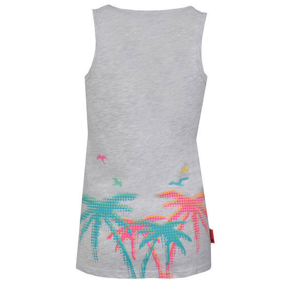 Superdry Womens Grey Palm Miami Vest main image