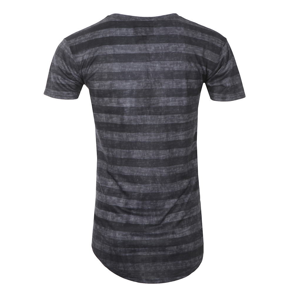 Curved Hem Burn Out T Shirt main image
