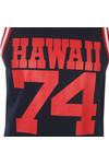 Franklin & Marshall Mens Blue Large Hawaii Logo Vest