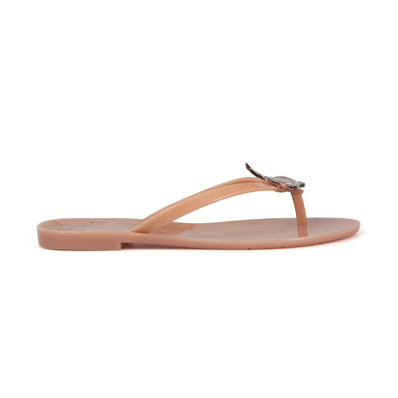 Vivienne Westwood Anglomania X Melissa Womens Pink Harmonic Orb Flip Flop main image