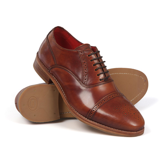 Base London Mens Brown Noel  Shoe main image